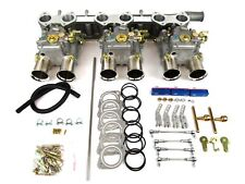 CLASSIC JAGUAR XK120/150 TRIPLE WEBER 45 DCOE CARBURETTOR CONVERSION KIT