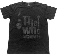 The Who 'Maximum R&B' Vintage Look T-Shirt - NEW & OFFICIAL!