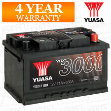 Yuasa Car Battery Calcium 12V 650CCA 71Ah T1 For Ford Mondeo MK4 2.0 TDCi 140