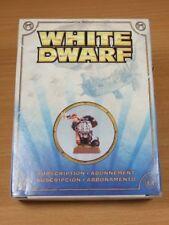 BRAND NEW UNSEALED WARHAMMER WHITE DWARF SUBSCRIPTION MODEL 2011