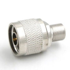 1pcs N-F type N male plug to F female jack RF connector adapter BSCA