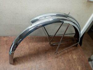 """Vintage 1960's Schwinn 26"""" chrome middleweight Fenders Starlet Typhoon American"""