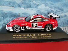 1/43 IXO FERRARI 575 GTC #62 LE MANS 2004