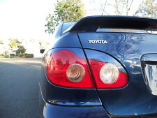 03-09 Corolla Tail light eyelids eyebrows - Pre cut, colored vinyl overlays MBlu