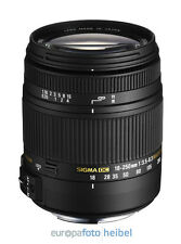 SIGMA 18-250 mm F3,5-6,3 DC Macro Makro OS HSM Objektiv für Sony A-Mount