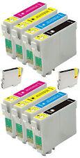 10 Cartuchos de tinta para Epson C64 C66 C84 C86 CX3600 CX3650 CX4600 CX6400 CX6600