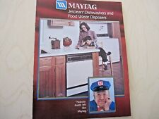 Vintage Maytag Jetclean Dishwashers and Food Waste Disposer Advertising Pamphlet