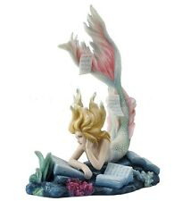 "7.5"" Lost Books by Tiffany Toland Scott Fantasy Sculpture Statue Figure Mermaid"