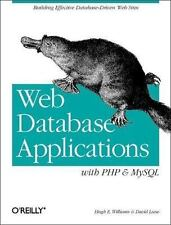 Web Database Applications with Php & MySql by Williams, Hugh E., Lane, David
