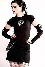 Futurstate, Brigade riding mini skirt XS goth cyber military Xtra-Small