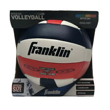 Franklin Official Size Volleyball Beach Backyard Cushioned Cover Red White Blue