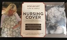 BeBe Au Lait Nursing Cover Descanso Gray Floral new