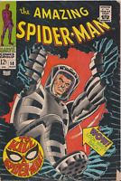 🎁 1968 Marvel Amazing Spider-Man #58 Comic By Stan Lee Very Good