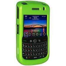 AMZER POLISHED NEON GREEN SNAP ON CRYSTAL HARD CASE FOR BLACKBERRY BOLD 9650