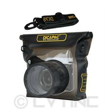 NEW DiCAPac WP-S3 100% Waterproof for Mirrorless Cameras - Up to 16ft Underwater