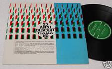 25 ANNI DI SPORT-LP CON ENZO FERRARI-ORIGINALE 1965 NM