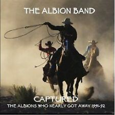 The Albion Band Captured CD NEW SEALED Folk Ashley Hutchings
