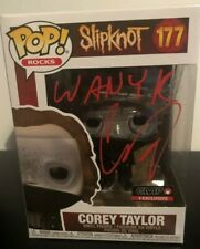 More details for corey taylor  --  hand signed funko pop   --  slipknot  --  autograph -  beckett