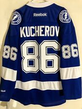 Reebok Premier NHL Jersey Tampa Bay Lightning Nikita Kucherov Blue sz XL