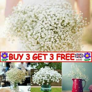 Artificial Baby's Breath Gypsophila Fake Flowers Bouquet Party Gift Decor