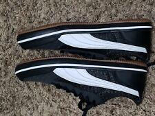 PUMA Men's Sneakers Black & White Soft Foam Size - 9 Optimal Comfort NEW NICE!