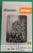 "Stihl 18"" Chainsaw Chain Loop 26 RM3 74 Drive Links 3689 005 0074,26RM3 74"