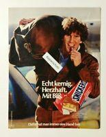 Werbeanzeige/advertisement A4: Snickers - Echt kernig 1981 (120416193)