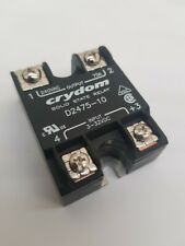CRYDOM D2475-10  75A SOLID STATE RELAY  3-32VDC CONTROL  INPUT , 240VAC OUTPUT