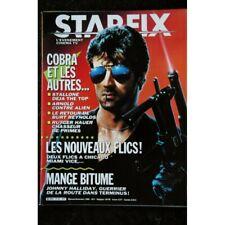 STARFIX 042 n° 42 * 1986 * COVER SYLVESTER STALLONE + POSTER COBRA ARNOLD J