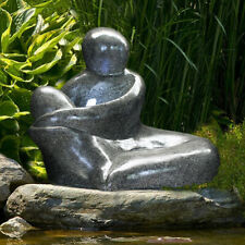 Springbrunnen Tischbrunnen Zimmerbrunnen Beleuchtung Dekobrunnen Polyresin P2X9