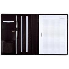 Alassio Schreibmappe ´CREMONA´, DIN A4, Nappa-Leder, schwarz (4021068430062)