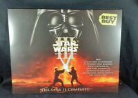 STAR WARS III REVENGE OF THE SITH BEST BUY FOLDER LITHOGRAPH PRINT NEW!