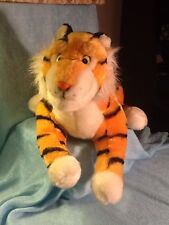 Vintage Disney Parks Plush Tiger Aladdin Rajah Jungle Book Shere Khan 16""