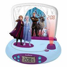 Official Disney Frozen 2 Radio-réveil projecteur 3D Elsa Anna Enfants