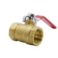 1/2 inch Lever Ball Valve Female Double Thread BSP Full Flow Home Practical New
