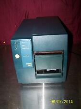 Intermec 3400 Label Direct Thermal Transfer Printer 3400B0110000 Serial and Para