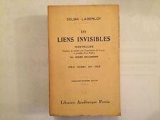 LES LIENS INVISIBLES 1943 SELMA LAGERLOF BELLESSORT