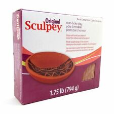 LARGE Original Sculpey Polymer Oven Bake Clay 794g TERRACOTTA for Arts Crafts