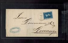 1887 Veracruz Mexico Cover to Durango