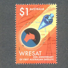 Australia-50th Anniv Satellite gummed 2017 mnh--Space-Science