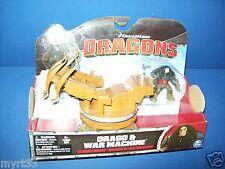 HOW TO TRAIN YOUR DRAGON DRAGONS RIDERS Drago & War Machine NIB