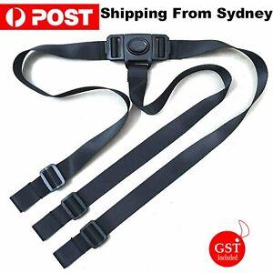 3 Point Harness Stroller High Chair Pram Buggy Safe Belt Strap Children Baby Kid