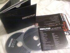 SIMPLE PLAN / MTV hard rock live /JAPAN LTD CD&DVD OBI