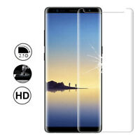 Film Protection Verre Trempé Bord Incurvé Resistant Samsung Galaxy Note 8 6.3""