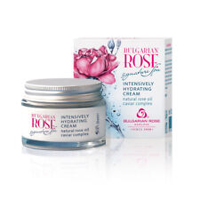 INTENSIVELY HYDRATING FACE CREAM BULGARIAN ROSE  SPA WITH ROSE OIL AND CAVIAR
