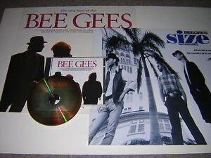 ORIGINAL BEE GEES CD ALBUM - VERY BEST OF - PLUS SLEEVE AND PROMOTIONAL CARD