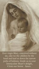 EVER VIRGIN MARY PRAYER CARD (wallet size)