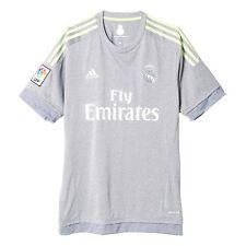 Camiseta de fútbol grises sin usada en partido