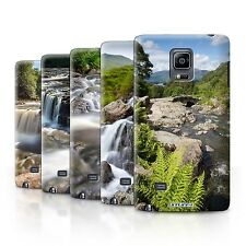 STUFF4 Back Case/Cover/Skin for Samsung Galaxy Note Edge/N915/Waterfalls