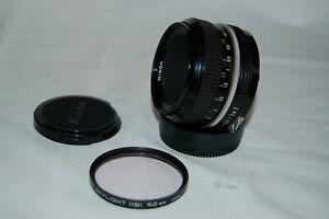Nikkor Vintage 1960s Japanese 1:2, 50 mm SLR Lens. Nikon Mount. 3332320. UK Sale